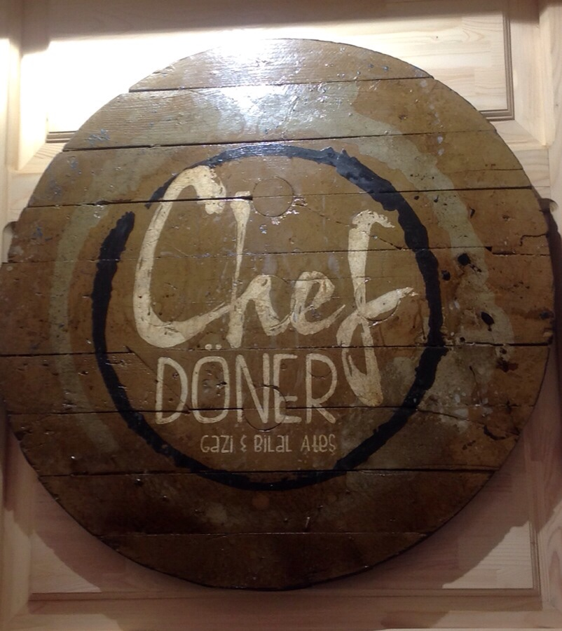 Chef Doner Cafe Sign