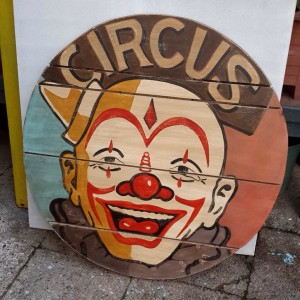 Circus Clown Sign