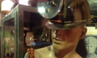male mannequin bust